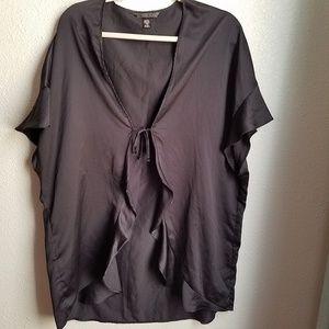 VICTORIA'S SECRET Black Kimono Cover up